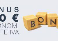 bonus autonomi partite iva