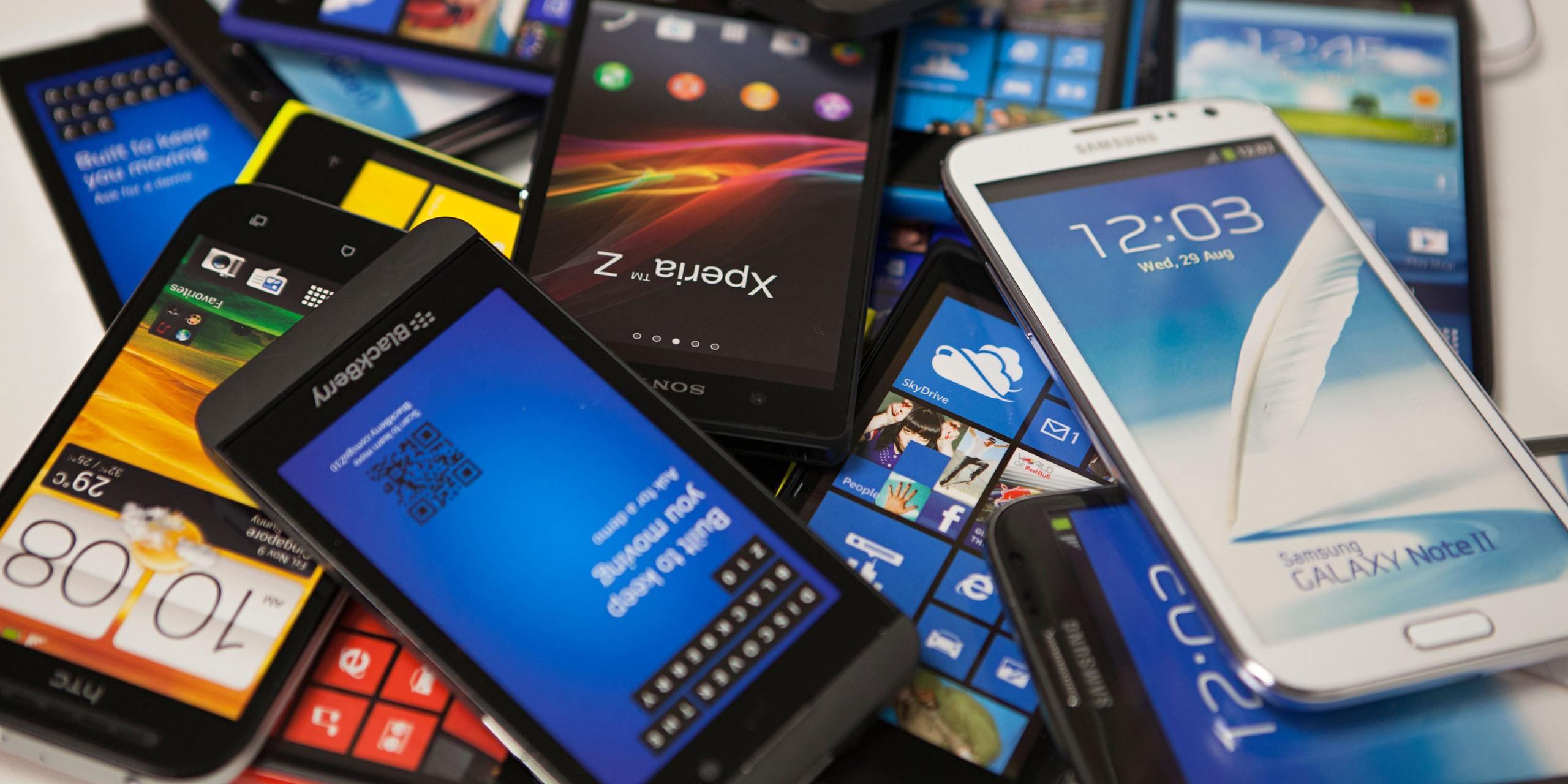 Smartphone per agenti di commercio