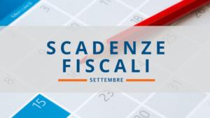 scadenze fiscali settembre 2018
